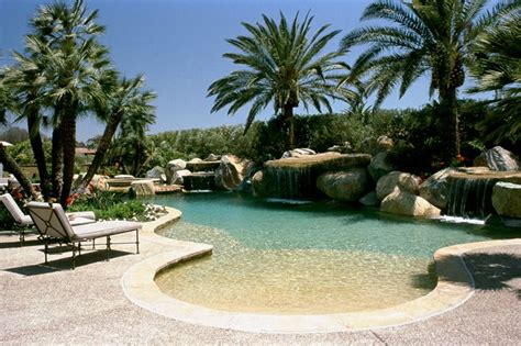 Beach Entry Swimming Pool Pools Creekbeds Etc Pinterest Entry Swimming Pool Designs