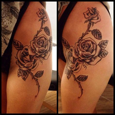 wrap around thigh tattoos vu on tatting and best designs for