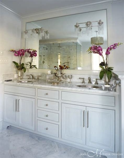 His And Hers Vanity by Janie Molster Design Bathrooms White Vanity