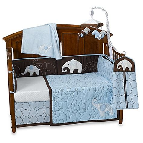 Bed Bath And Beyond Crib Bedding S 174 Blue Elephant Crib Bedding Accessories Bed Bath Beyond