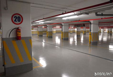 underground parking new underground parking structure inaugurated in armenian capital asbarez