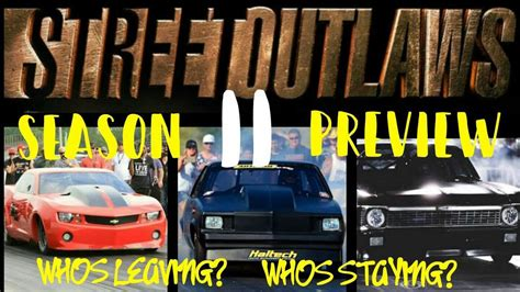 whos staying and whos leaving on days of our lives 2016 season 11 street outlaws whos staying and whos leaving