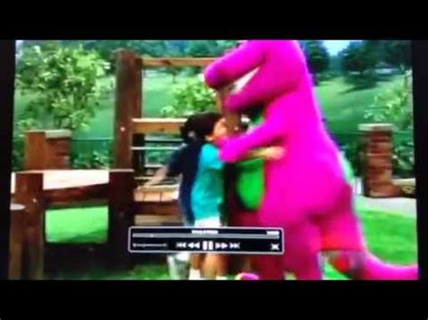 barney backyard show video barney comes to life the backyard show youtube