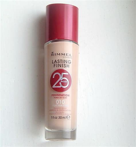 Rimmel Foundation rimmel lasting finish 25 hour foundation with comfort