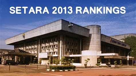 Ranking Mba Programs In Malaysia by Top Universities In Malaysia Quot Excellent Quot In Setara