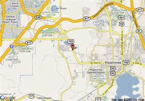 where is kissimmee florida on the map map of travelodge suites kissimmee gate kissimmee