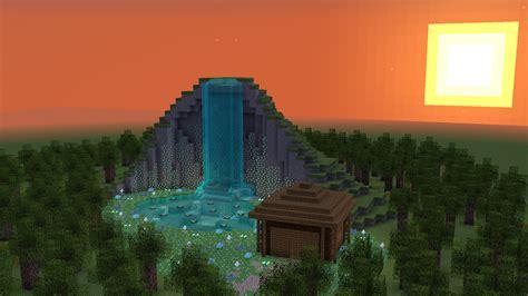 build  waterfall  minecraft