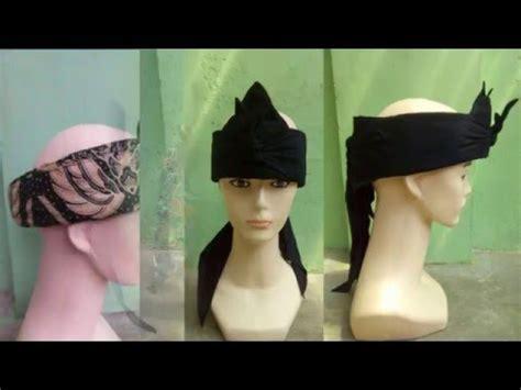 Iket Bali Praktis Udeng Ms1717 model model ikat kepala iket sunda bagian 1