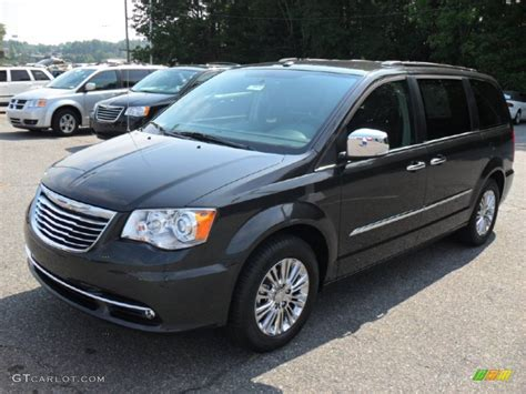 2011 chrysler town and country limited 2011 charcoal pearl chrysler town country limited