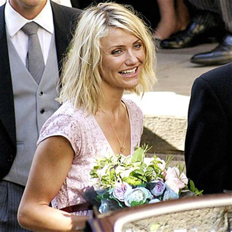 What No Wedding Bells For Cameron Diaz Yet by Cameron Diaz Is For Wedding Bouquets