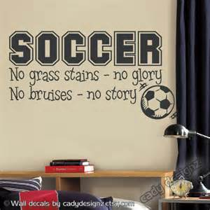 Soccer Room Decor Soccer Sports Vinyl Wall Decal Children Decor By Studio378decals