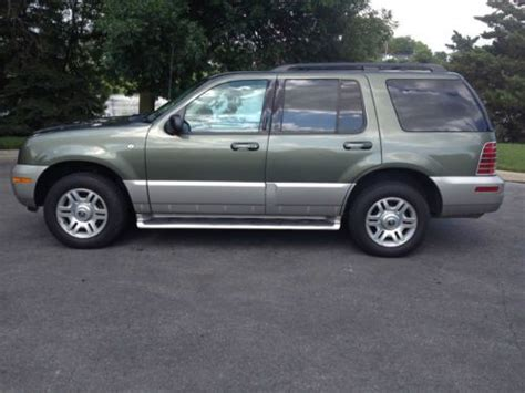 how cars run 1998 mercury mountaineer interior lighting purchase used 2003 mercury mountaineer premier awd in columbus ohio united states