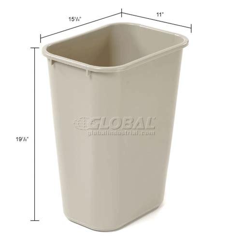 Under Cabinet Wastebasket Kitchen Garbage Can Amp Recycling Deskside Wastebaskets 10