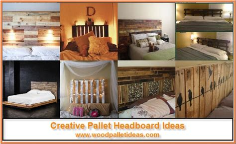 diy wood headboard ideas creative pallet headboard ideas wood pallet ideas