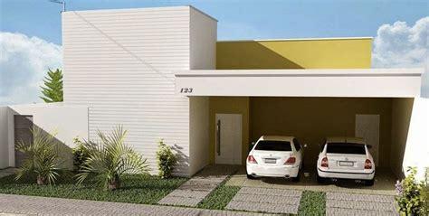 fachadas de casas part 6 - Cocheras Abiertas Modernas