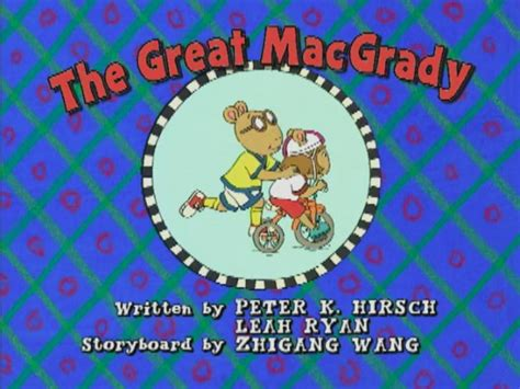arthur title cards season 11 the great macgrady arthur wiki