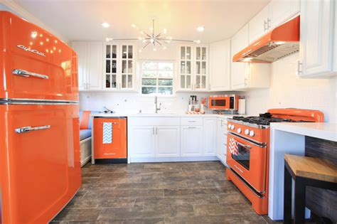 modern kitchens  cool retro appliances