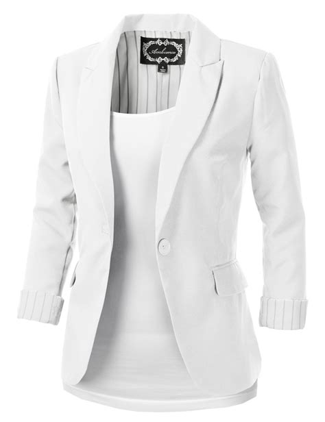 Blazer White White Blazer Fashionhdpics