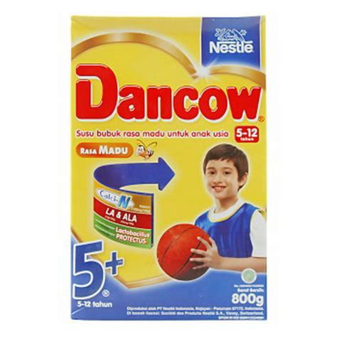 Dancow Milk Powder Dancow 5 Madu 800 Gram