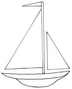 simple boat template viajemos en barco let s travel by ship tslac