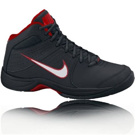 best casual basketball shoes nike overplay vi mens black sports hi top basketball shoes
