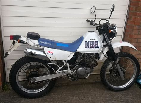 Suzuki Dr 200 For Sale by Suzuki Dr200 E Djebel For Sale R2wtrials R2wracing
