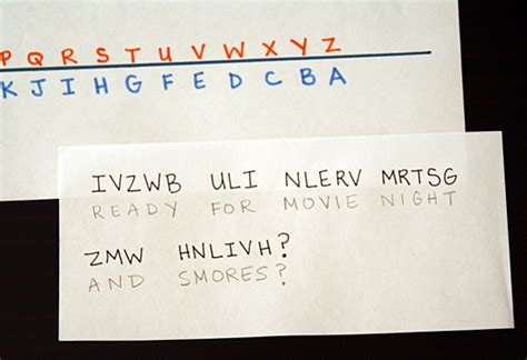 secret letter want to a secret how to write code language