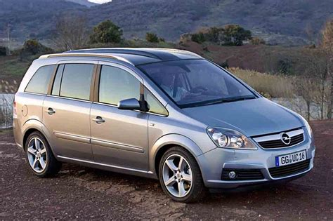 Opel Zafira 7 Seater Luggage Capacity Opel Zafira 1 8 Pictures To Pin On Pinsdaddy