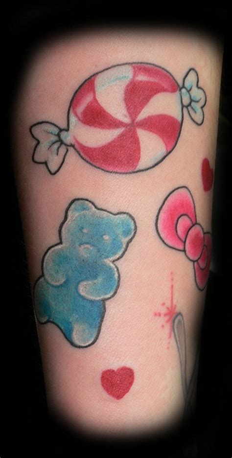 gummy bear tattoo gummy anatomy pictures to pin on tattooskid