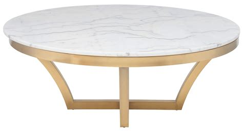 charming white coffee tables white marble gold base nuevo coffee table in brushed gold base and white marble top free shipping