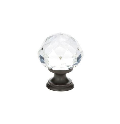 emtek crystal cabinet knobs emtek cabinet knob 1 1 4 quot 86012