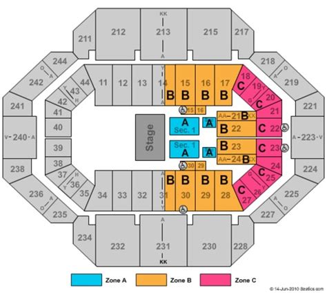 rupp arena floor plan rupp arena tickets in lexington kentucky rupp arena