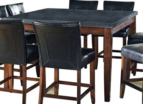granite counter height dining table steve silver granite bello granite top 54x54 counter
