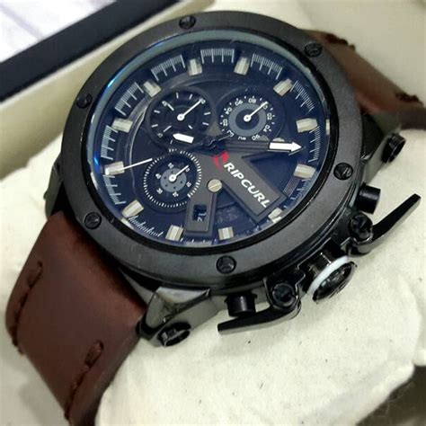 Jam Kulit jam tangan kulit ripcurl colorad indotechno