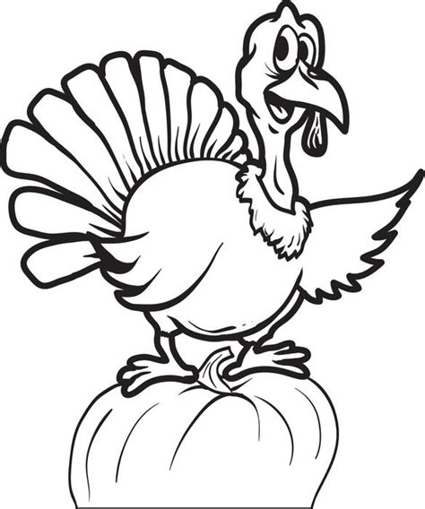 thanksgiving pumpkin coloring pages free free printable thanksgiving turkey coloring page for kids 8