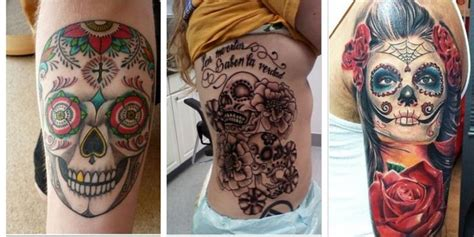 day of the dead couple tattoo 30 best flower meaning images on