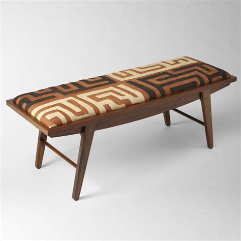 west elm benches kuba bench from west elm south african african style