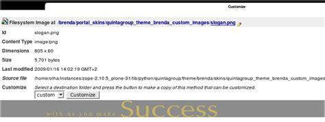 tutorial editing brenda waworga part 2 how to replace brenda theme portal slogan in plone 3