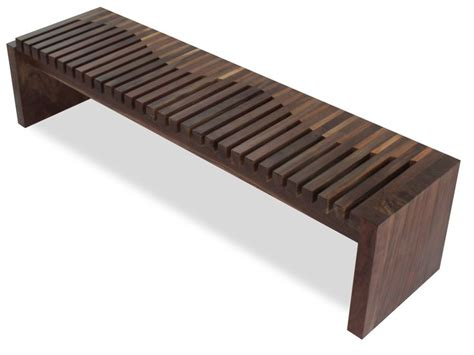 www bench com rotsen furniture walnut and tamburil wood contemporary