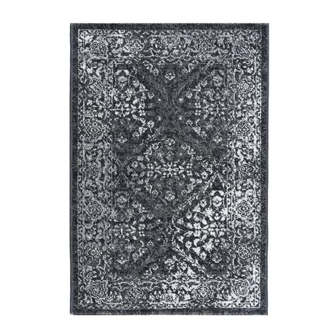 2 x 3 accent rugs tayse rugs milan gray 2 ft x 3 ft accent rug mln4209 2x3