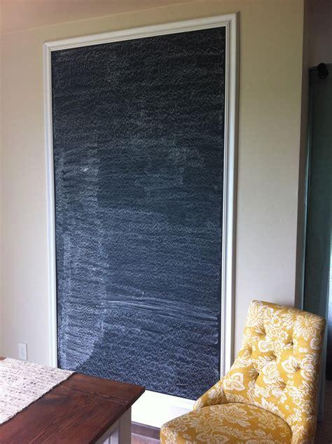 diy chalkboard wall more lovely a diy chalkboard wall