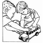 Ausmalbild Jungs Spielen Mit Autos  Ausmalbilder Kostenlos Zum