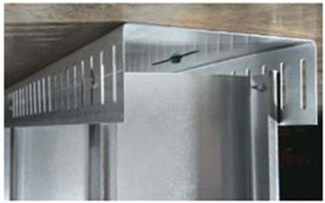 Mba Flat Steel Deflection Track by Maxtrak 174 Slotted Deflection Track Clarkdietrich Building