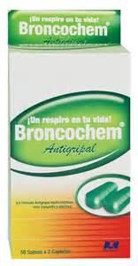BRONCOCHEM ANTIGRIPAL X 50 CAPLETAS O General
