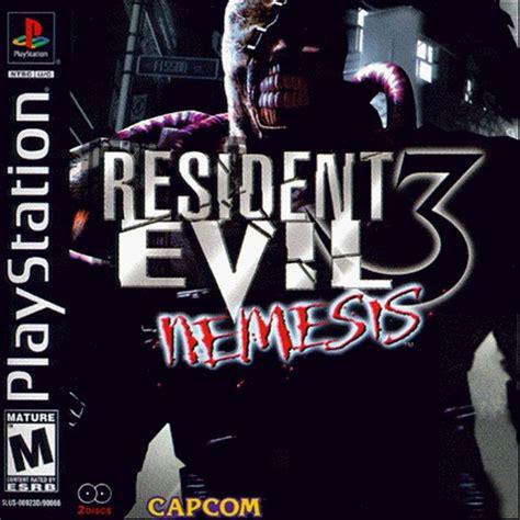 resident evil 3 resident evil 3 nemesis e iso