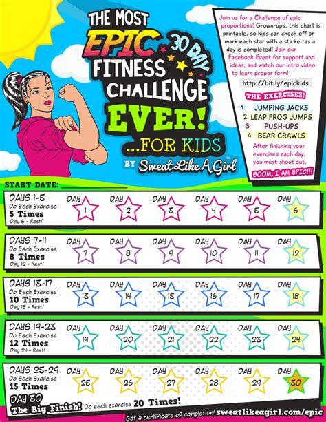 30 day fitness challenges for 30 day fitness challenge for