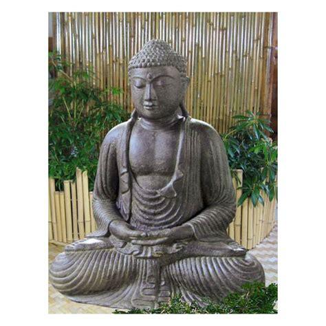 japanische figuren garten japanischer buddha lavagu 223 figuren skulpturen