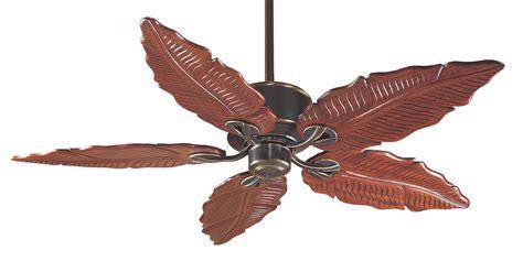 leaf ceiling fan with hunter 28522 coronado banana leaf 55 ceiling fan amber