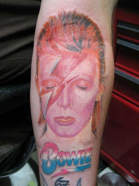 aladdin sane tattoo 20 awesome album cover inspired tattoos flavorwire