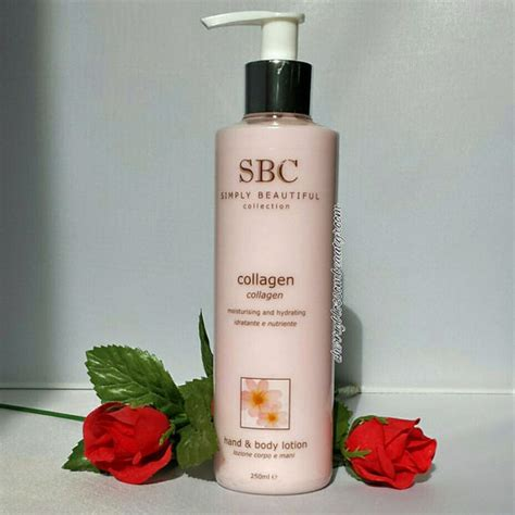 Handbody Collagen test pflege sbc collagen bodylotion